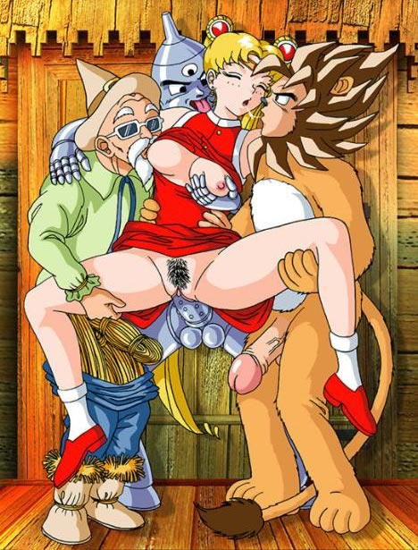 nude dorothy of oz wizard Dragon ball z sex naked