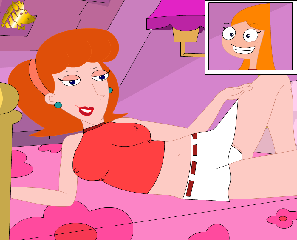 candace nude ferb and phineas Mass effect andromeda cora naked