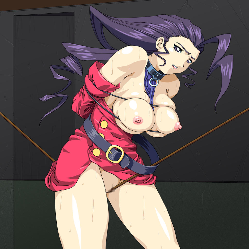 street fighter laura Tits trials in tainted space