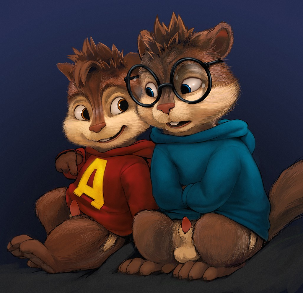 nude and the chipmunks alvin Coco from foster's home for imaginary friends