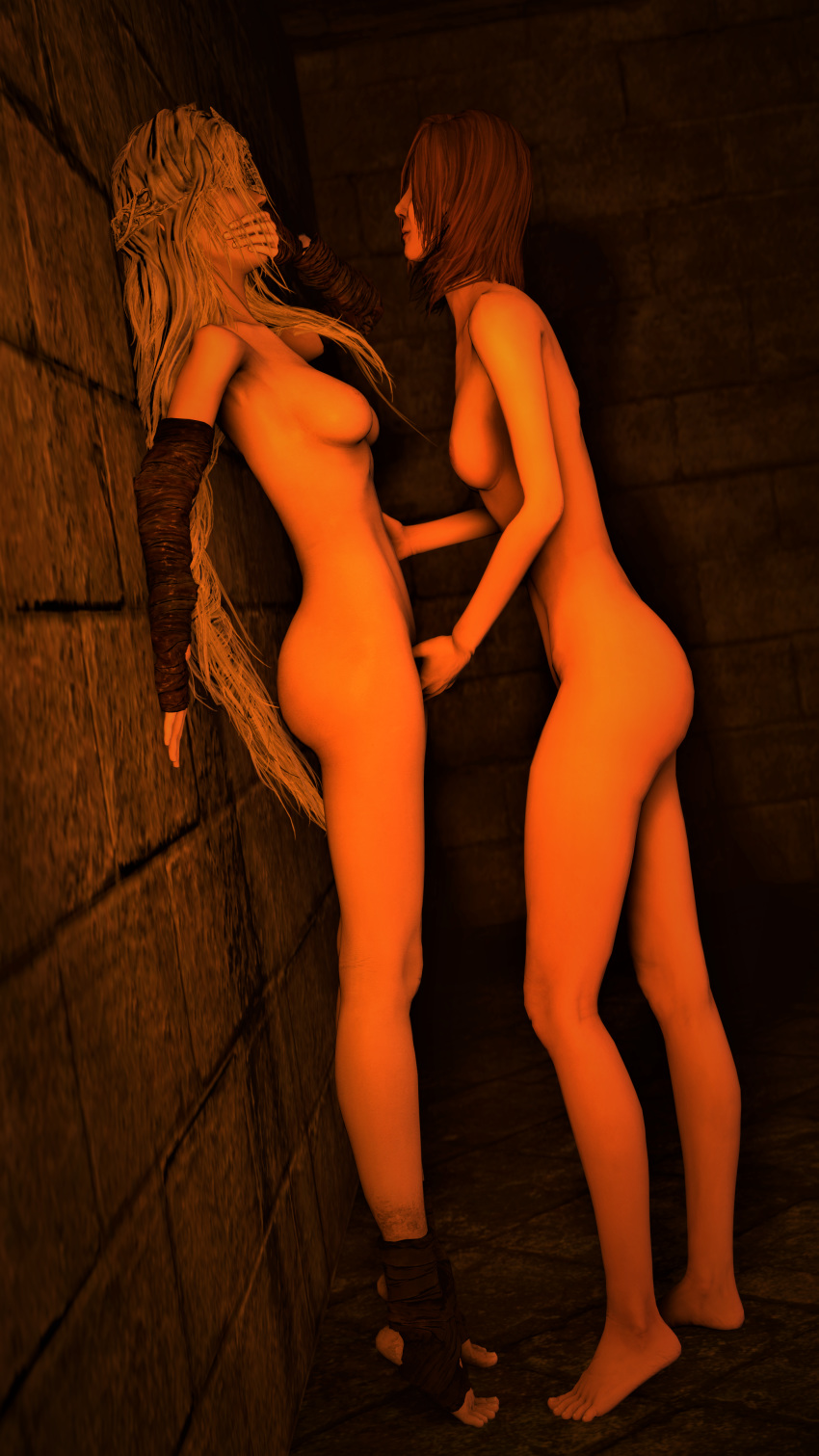 dark friede 3 lady souls Brandy and mr whiskers vore
