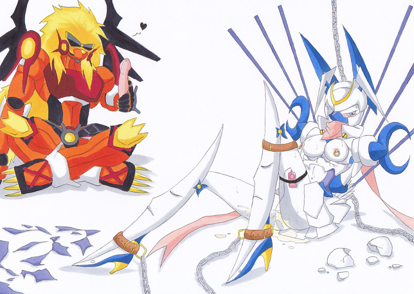 digimon story numemon cyber sleuth platinum Love is war