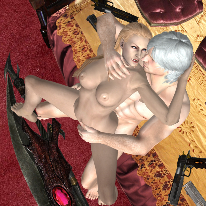 (devil may cry) trish Mike, lu, and og