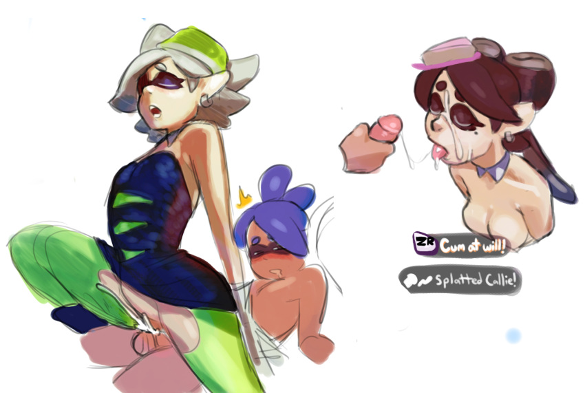 marie splatoon fanart callie and As told by ginger carl