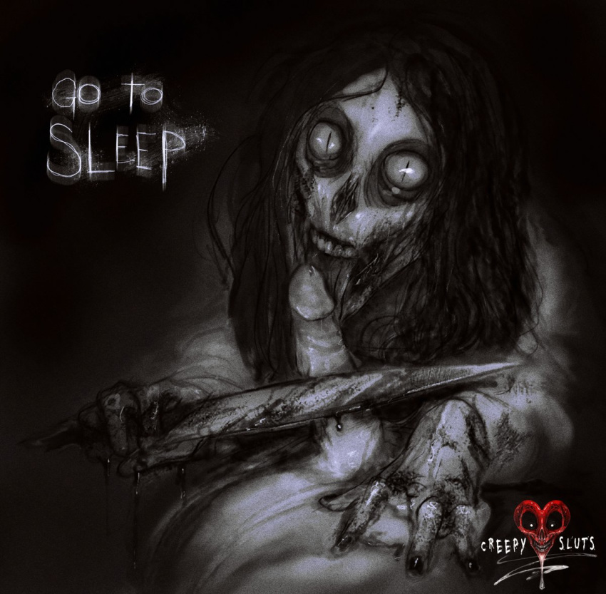 anime jeff cute the killer Maria the virgin witch nudity