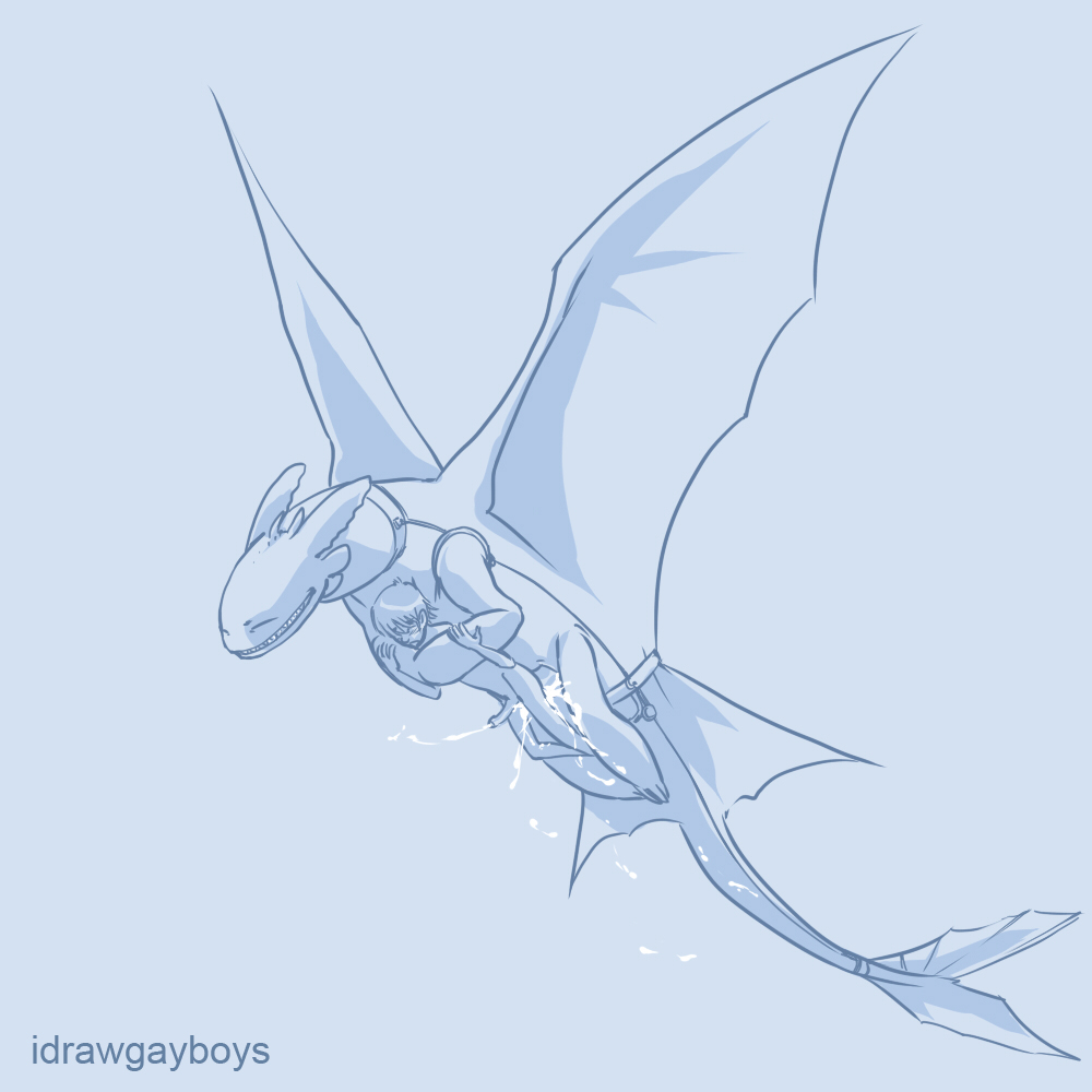 your train nude how dragon to Out of jimmys head