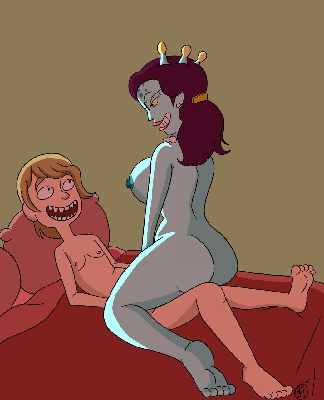 jessica morty and nude rick Who killed roger rabbit nudity